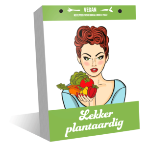 Lekker Plantaardig vegan recepten scheurkalender